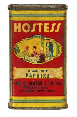 Hostess Spice Tin