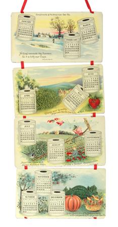 American Can Co. Calendar