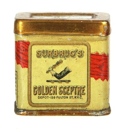 Golden Sceptre Tobacco Tin