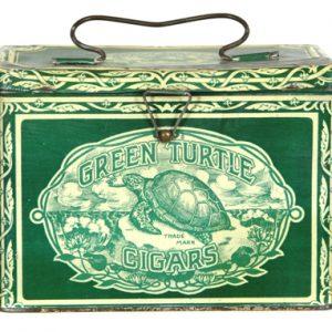 Green Turtle Cigar Pail