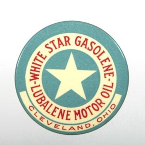 White Star Gasolene Mirror