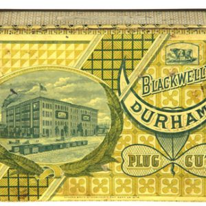 Blackwell's Durham Tobacco Tin