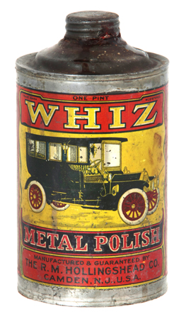 Whiz Metal Polish Tin
