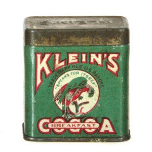 Klein's Cocoa Sample Tin