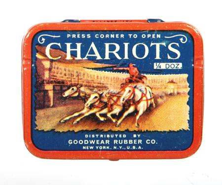 Chariots Condom Tin