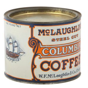 Columbia Coffee Can