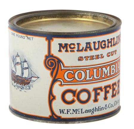 Columbia Coffee Can