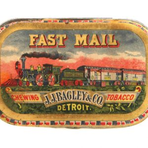 Fast Mail Tobacco Tin