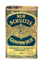New Schultze Gunpowder Tin