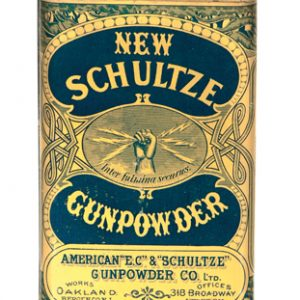New Schultze Gunpowder Tin