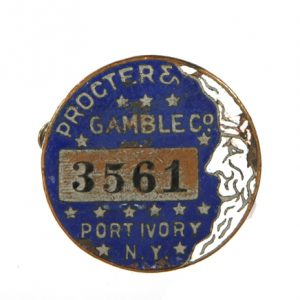 Proctor & Gamble Badge