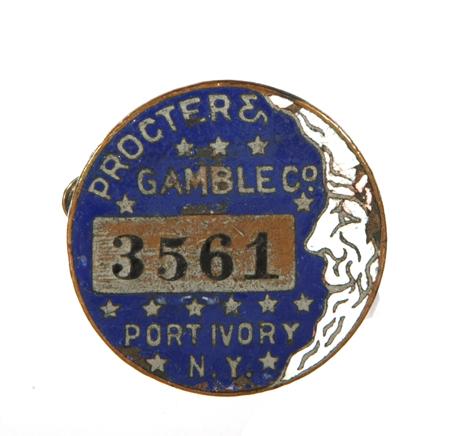Proctor & Gamble Badge