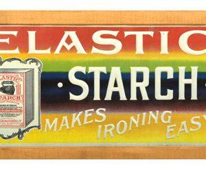 Elastic Starch Sign