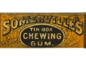 Somerville's Chewing Gum Tin Match Safe