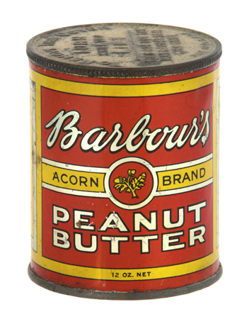 Barbour's Peanut Butter Tin
