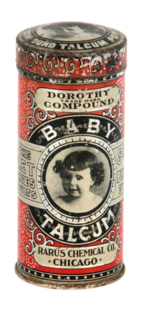 Rarus Baby Talcum Tin
