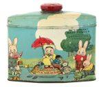 Peter Rabbit Talc Tin