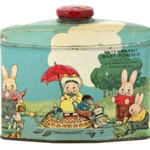 Peter Rabbit Talc Tin