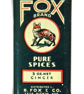 Fox Spice Tin