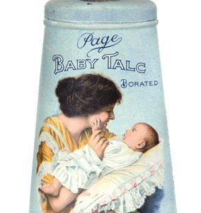 Page Baby Talc Tin
