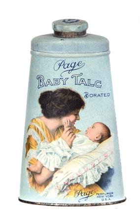 Page Baby Talc Tin