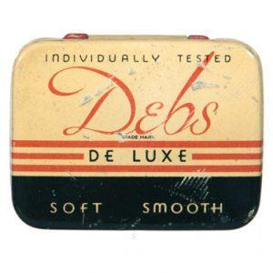 Debs Condom Tin