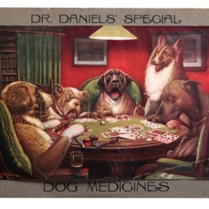 Dr. Daniels' Dog Medicine Sign