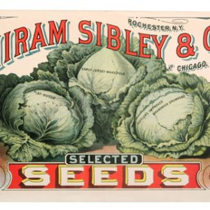 Hiram Sibley Seeds Sign