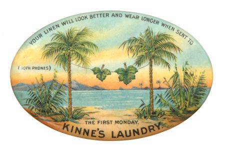 Kinne's Laundry Mirror