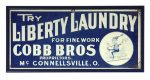 Liberty Laundry Sign