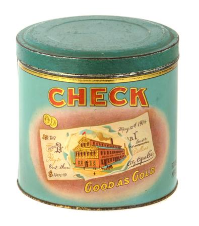 Check Cigar Can