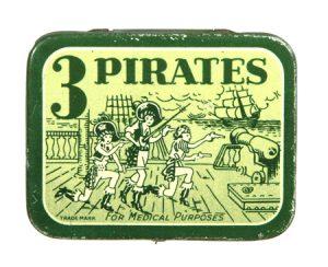 3 Pirates Condom Tin