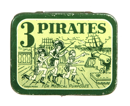 3 Pirates Condom Tin