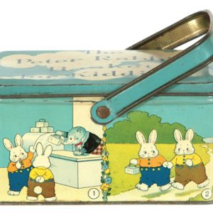 Peter Rabbit Tin Pail