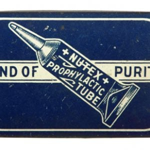 Nutex Prophylactics Tube Tin