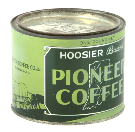 Pioneer Coffee Can