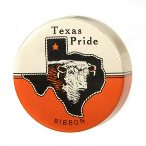 Texas Pride Ribbon Tin