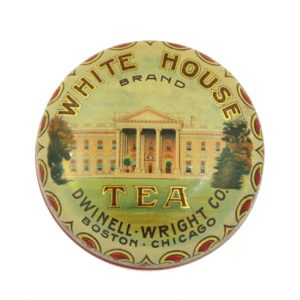 White House Tea Tin