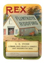 Rex Fintkote Roofing Match Holder