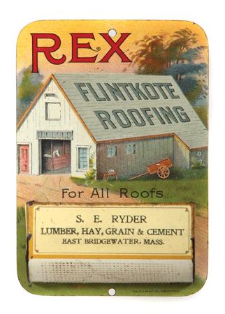 Rex Fintkote Roofing Match Holder