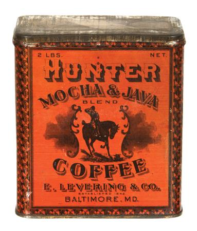 Hunter Coffee Tin