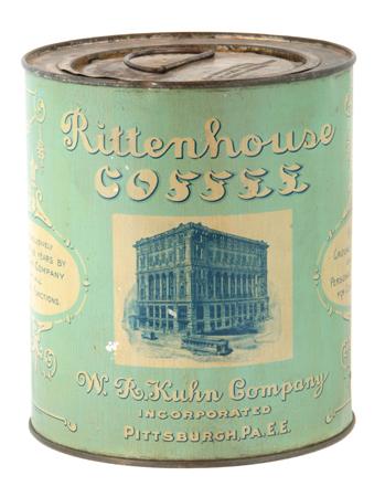 Rittenhouse Coffee Can