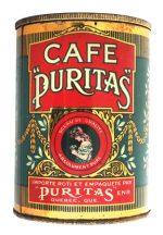 CafŽ Puritas Coffee Can