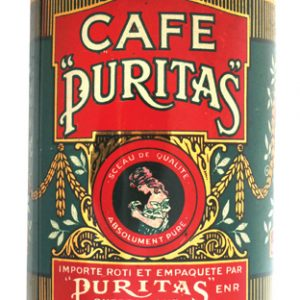 CafŽ Puritas Coffee Can