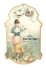 Green Seal Cigars Sign