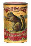 Wood-Lark Squirrel Poisin Container