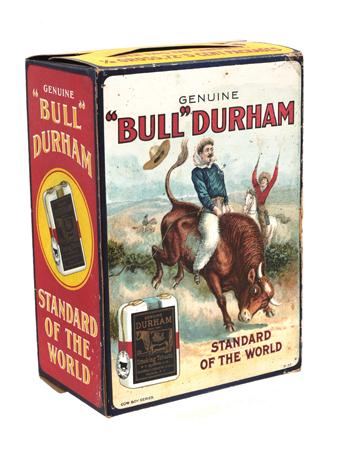 Bull Durham Tobacco Display Box
