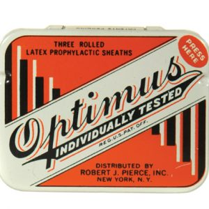 Optimus Condom Tin