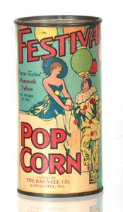 Festival Pop Corn Tin