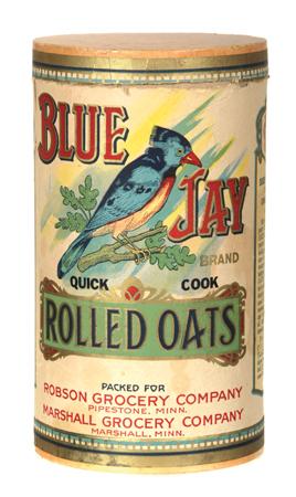 Blue Jay Oat Box